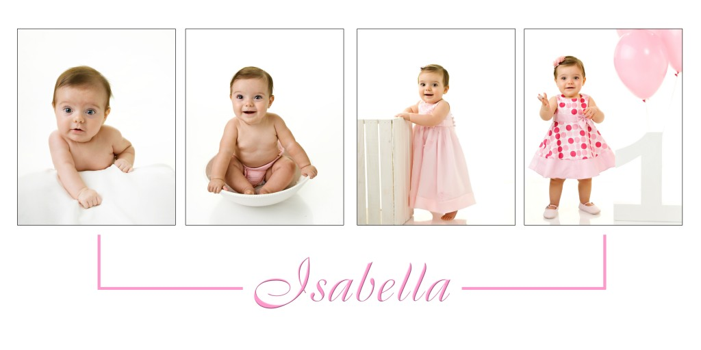 Baby Portrait Plan St Charles baby photography 4 image photo collage