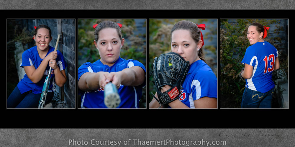 Softball Pictures St Charles High School Senior Photographer