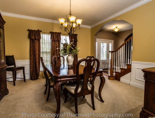 Formal Dining by Best Real Estate Photographer in St Charles