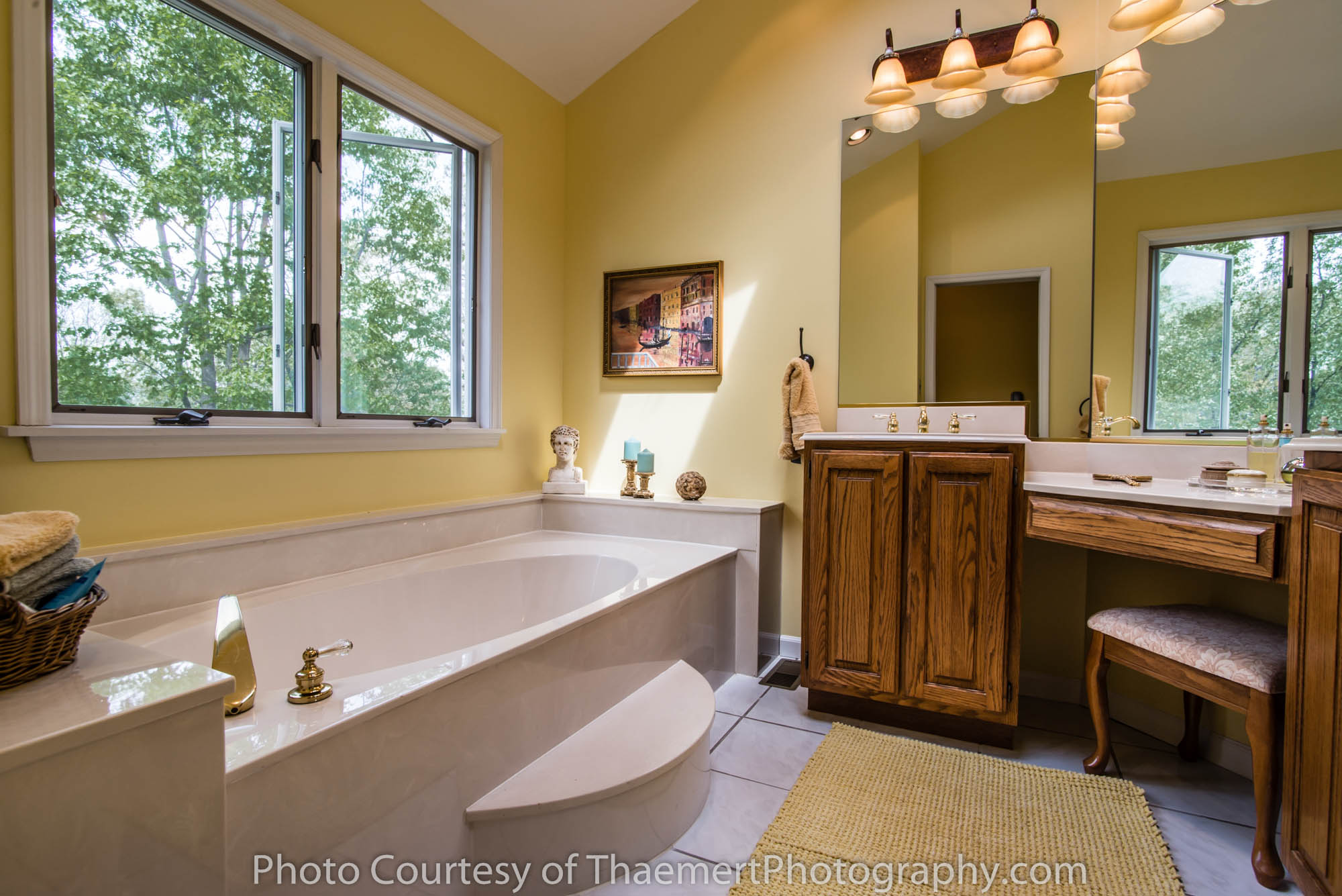 St Charles Real Estate Photographer bathroom