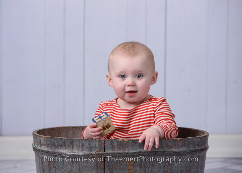 St Charles Best Baby Photographer Studio Portraits