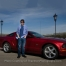 St Charles High School Senior Photography, Graduation photos for guy with car