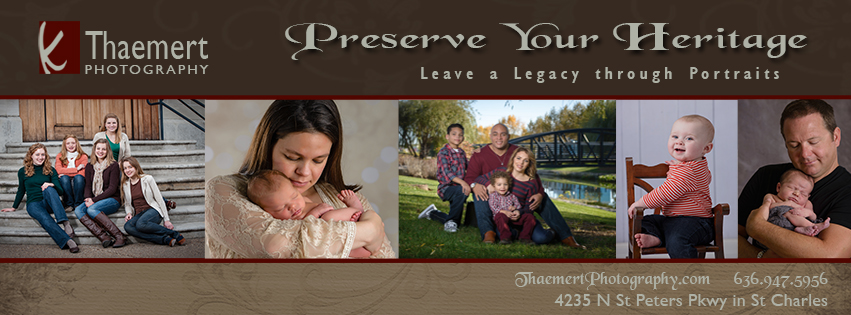 St Charles Family Photographer Heritage Portraits Information