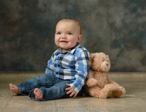1st Birthday Pictures for Baby Boy | St Charles Baby Photographer