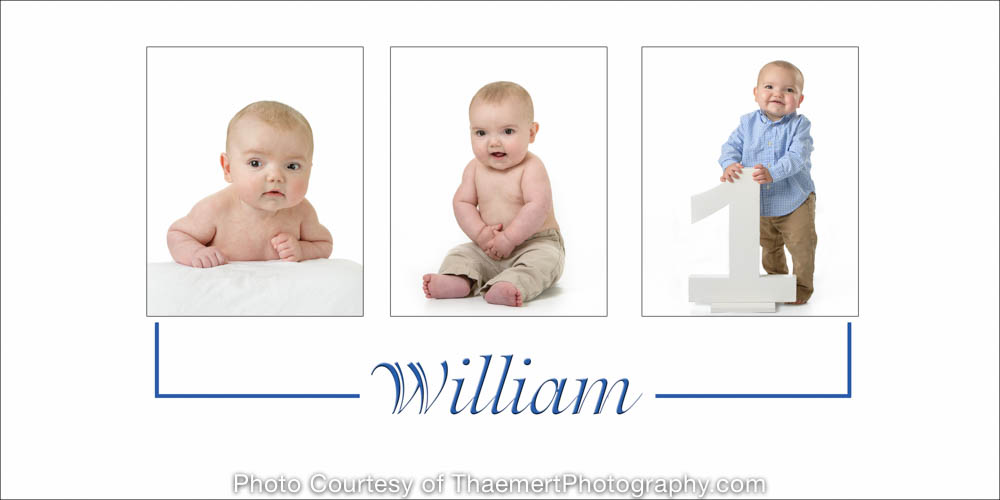 St Charles Baby Photography | First Year Portrait Plan