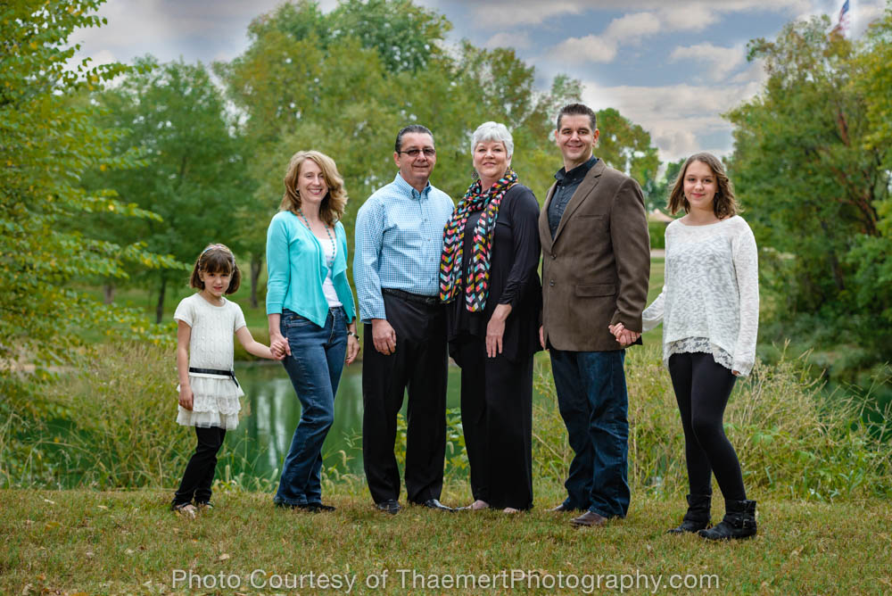 St Charles Family Photographer Park Photo Shoot