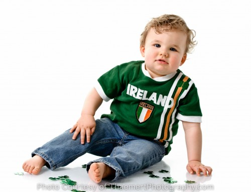 18 months and all Irish! |Fun Kid Photographer