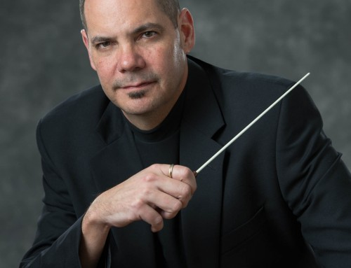 Professional Headshot for St Charles Band Director