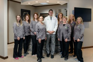 Dentist Office Team Photo for Marketing