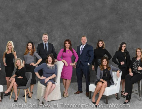 Chesterfield Real estate Team Group Photo in Studio