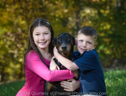 This Family Photo Shoot is for the Dog!