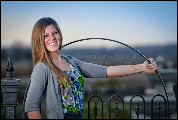 St Charles High School Senior Pictures in New Town