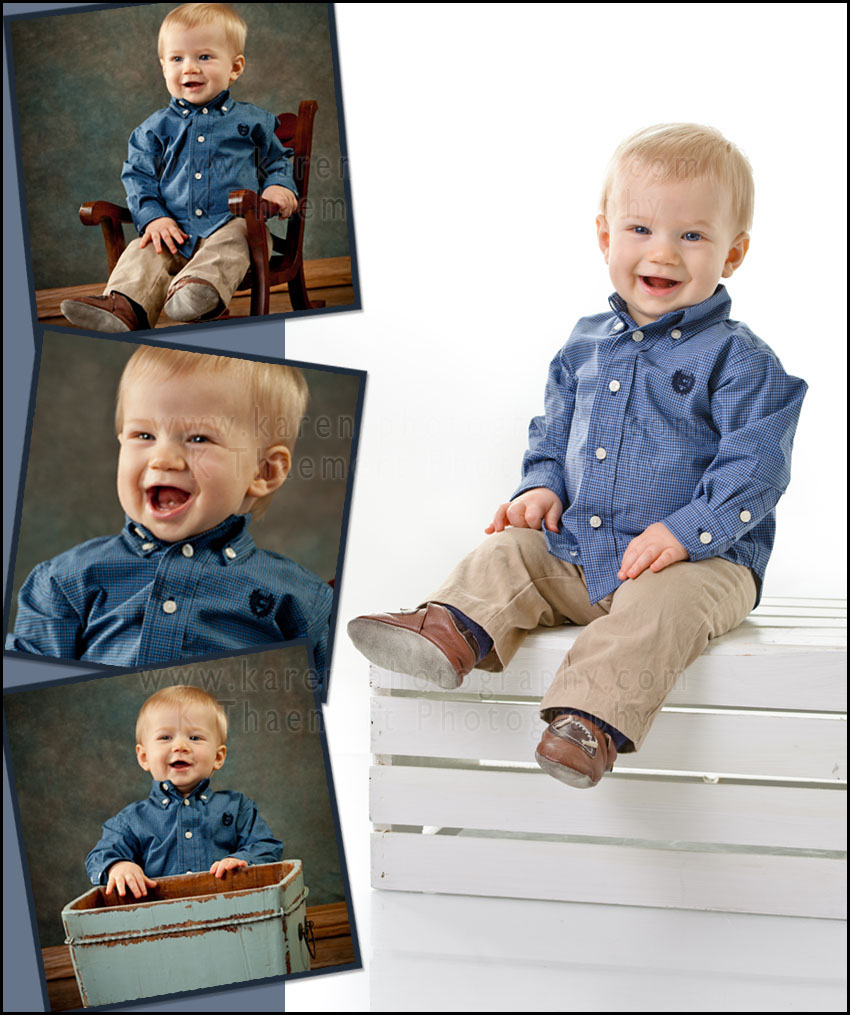 Photography for 9 month baby boy in St Peter's Missouri