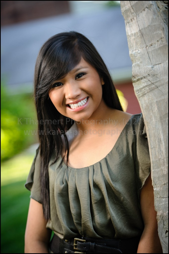 Francis Howell Central girl by St Charles Senior Photographer