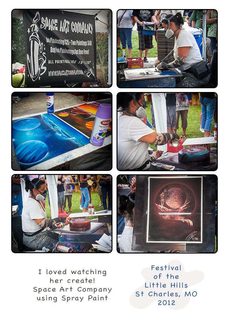Photos of Space Art Company by St Charles Photographer at the annual Festival of the Little Hills