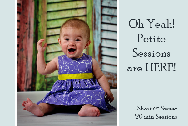 St Charles Family Photography now offering Petite Sessions