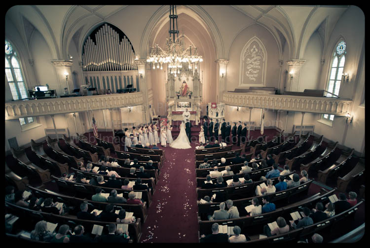 Wedding at Trinity Lutheran Soulard by St Charles Wedding Photographer