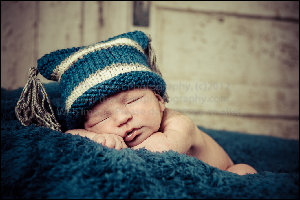 St Charles Newborn Photographers Baby Boy sleeping