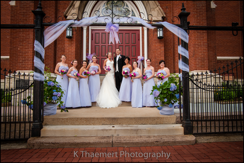 St Charles Wedding Photographer at Trinity Lutheran St Louis
