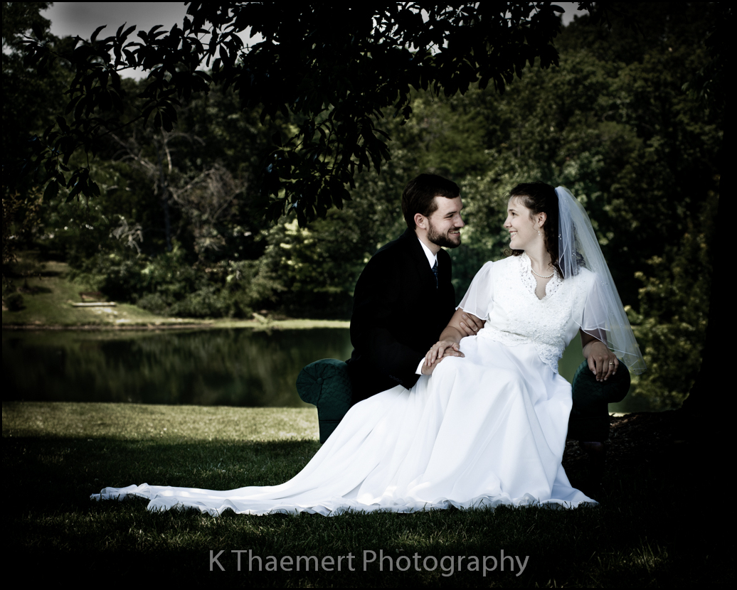 Beautiful Outdoor portraits by St Charles Wedding Photographers