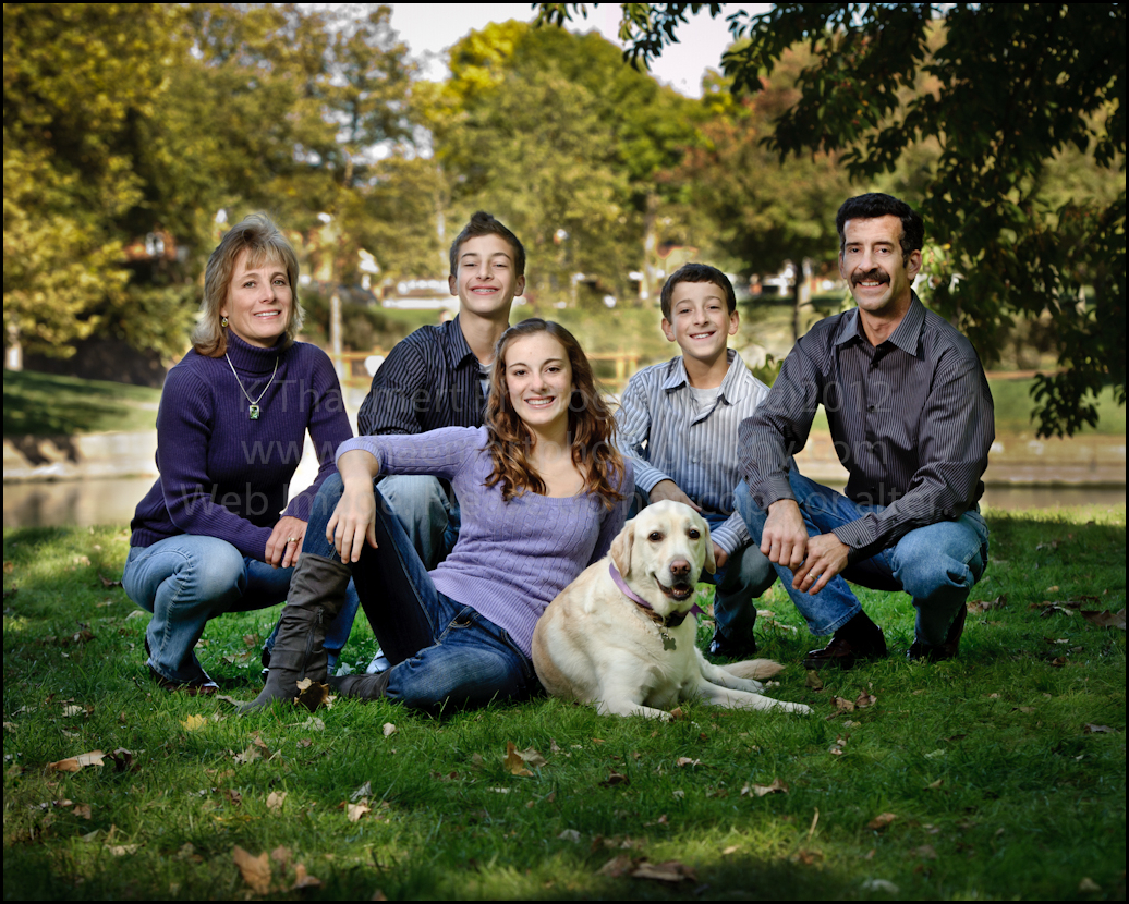 Family Portraits by St Peters Photographer