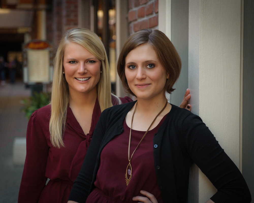 St Charles Family Photographer Sister Portrait at the Ameristar