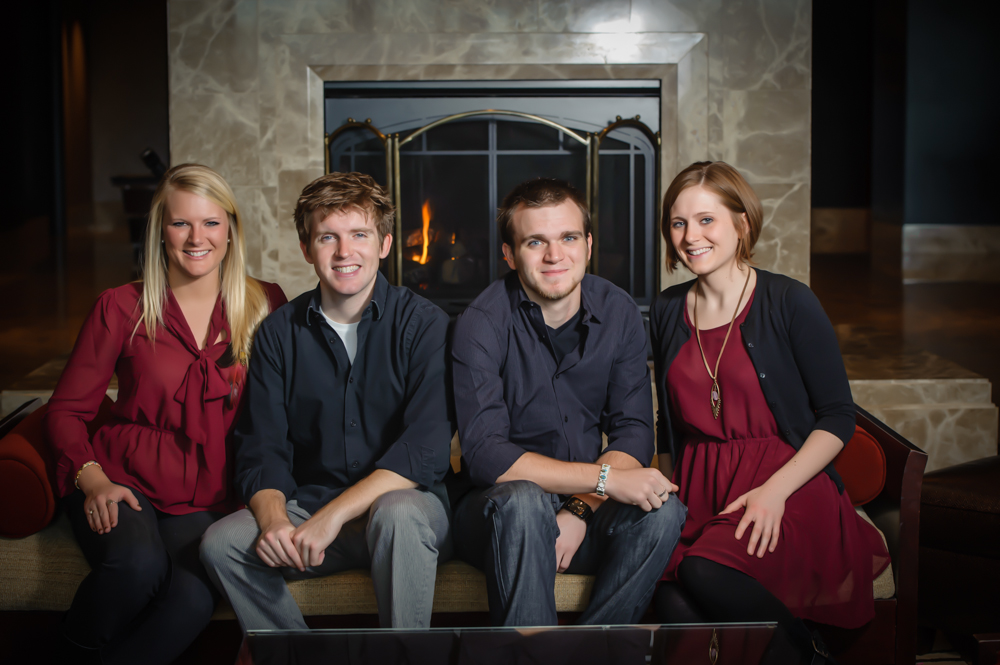 St Charles Family Photographer for brothers and sisters