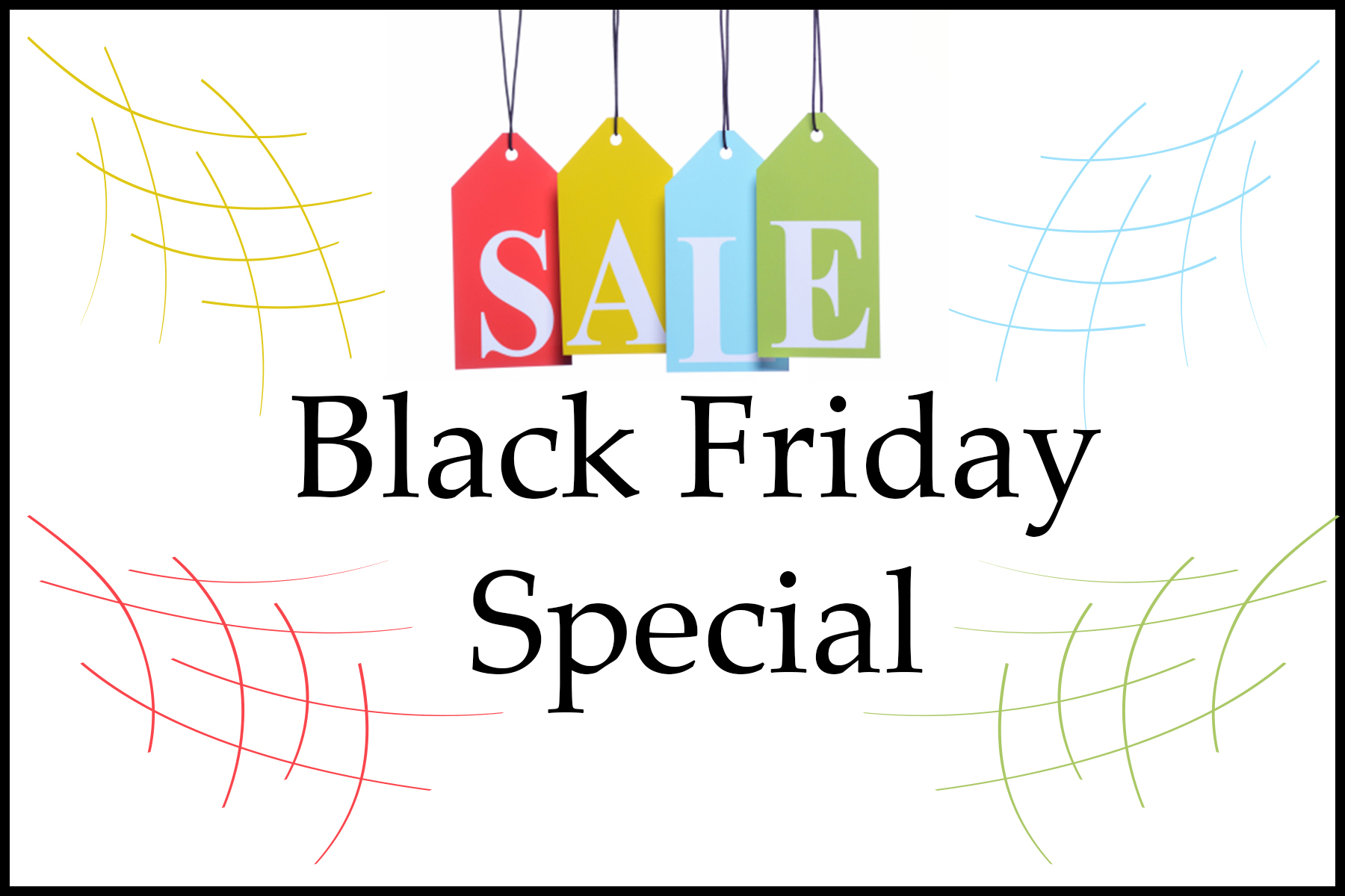 Black Friday Sales at St Peters Photography