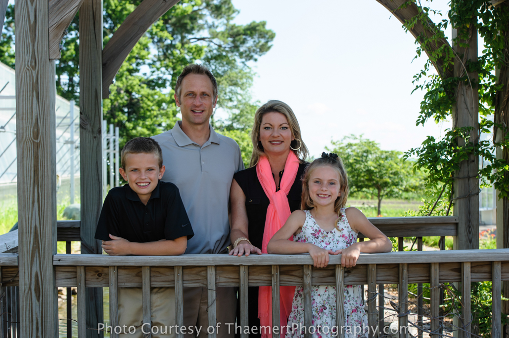 Family Photography by St Charles Photographer in New Town