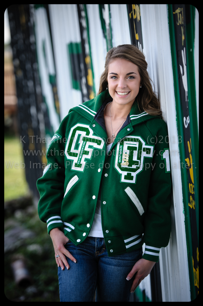 St Charles Senior Photographer Orchard Farm High