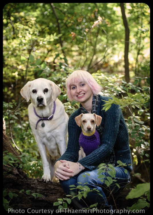 Outdoor Portraits by St Charles Pet Photographer