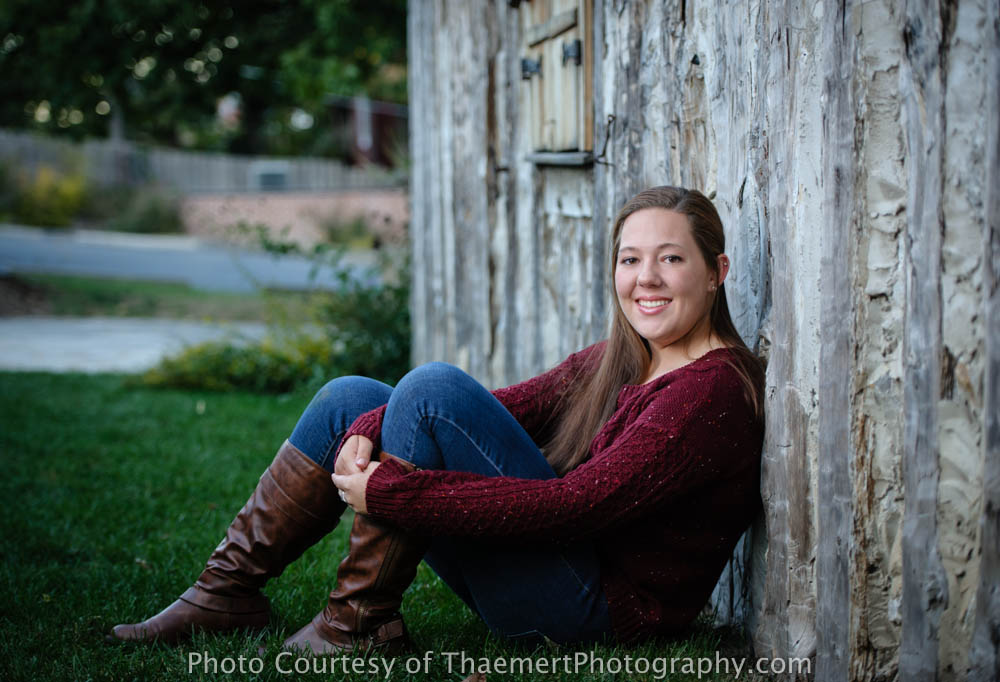 High School Senior Photography St Charles