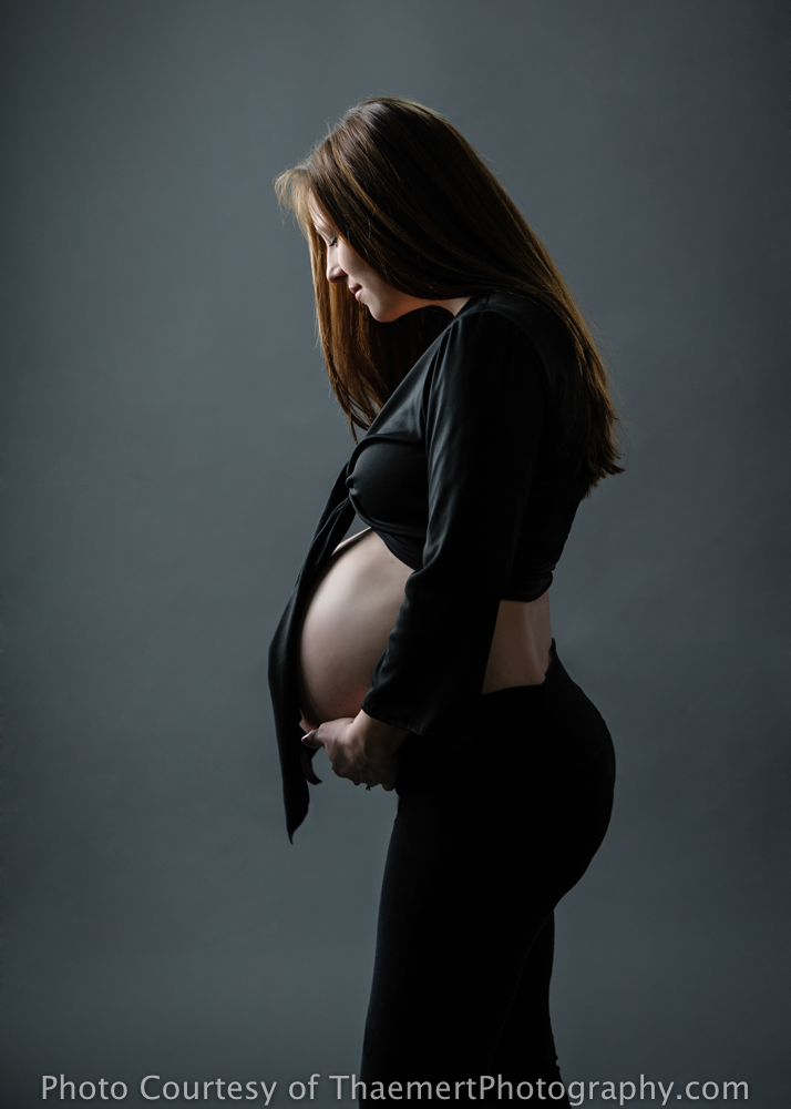 St Peters Maternity Photographer Beautiful pregnant mom