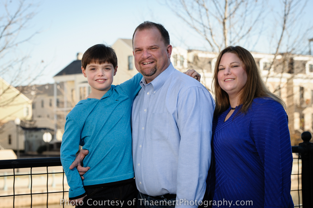St Charles Family Photographer in New Town
