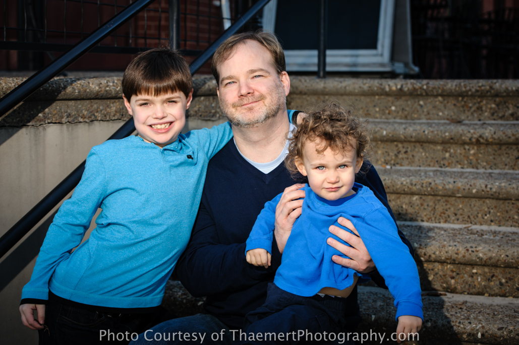 St Charles Family Photographer Uncle and nephews