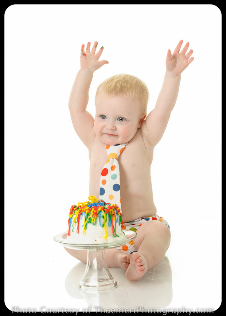 St Peters Baby Photographer Smash Cake