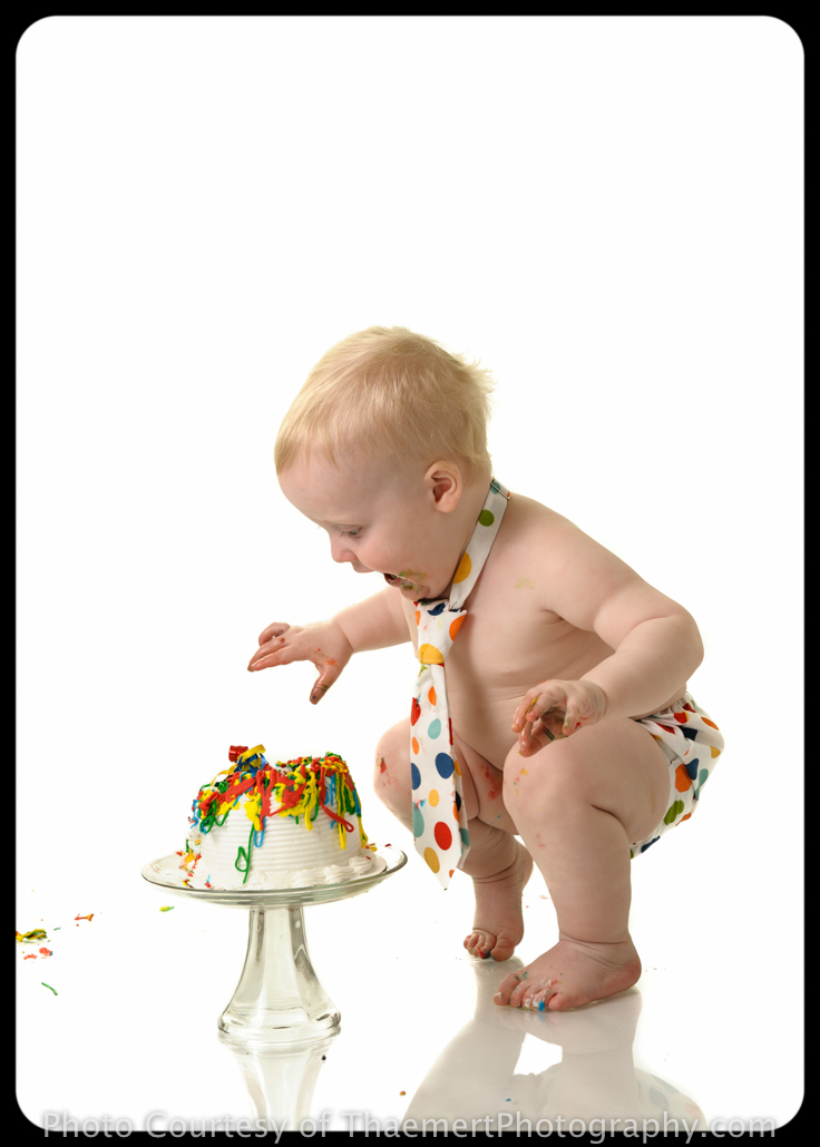 St Peters Baby Photographer Smash Cake pictures