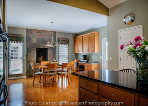 St Charles Real Estate Photographer Kitchen