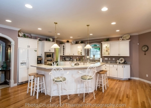 Gorgeous Kitchen St Charles Real Estate Photography