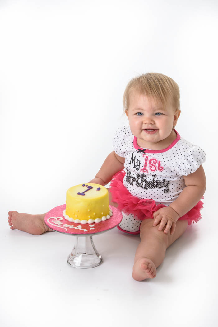 Cake Smash St Charles Baby Photographer