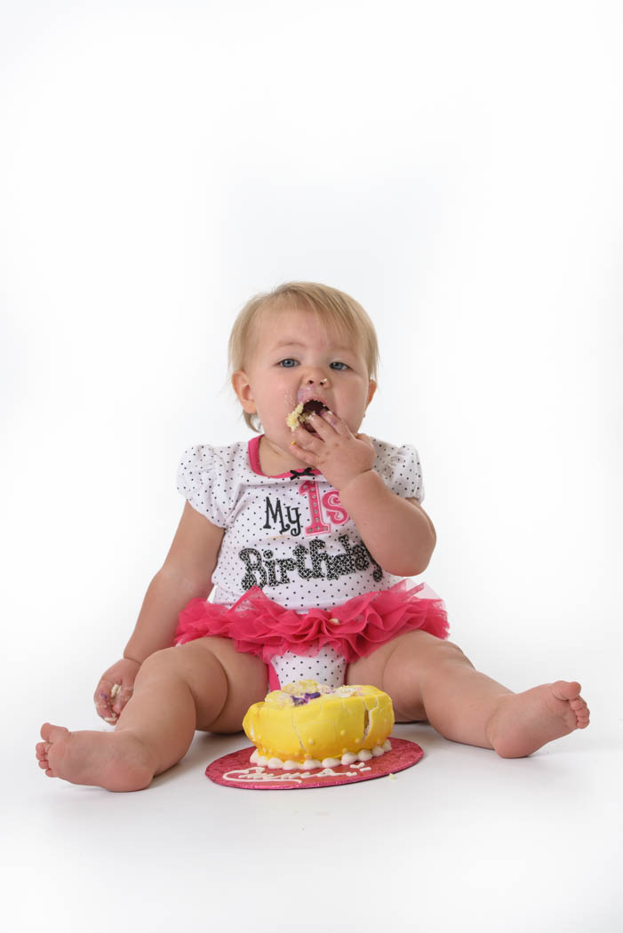 St Charles Baby Photographer - Cake Smash photo