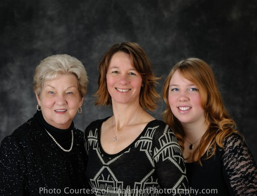 Family Portraits Heritage Session – 3 generations {St Charles}