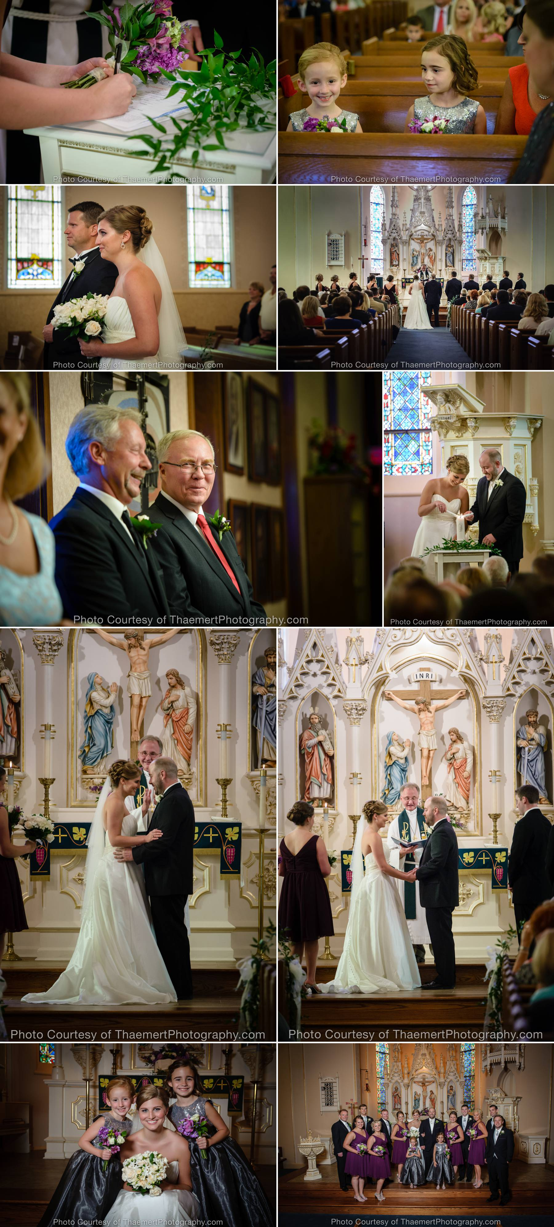 Wedding Photography St Charles Immanuel Lutheran