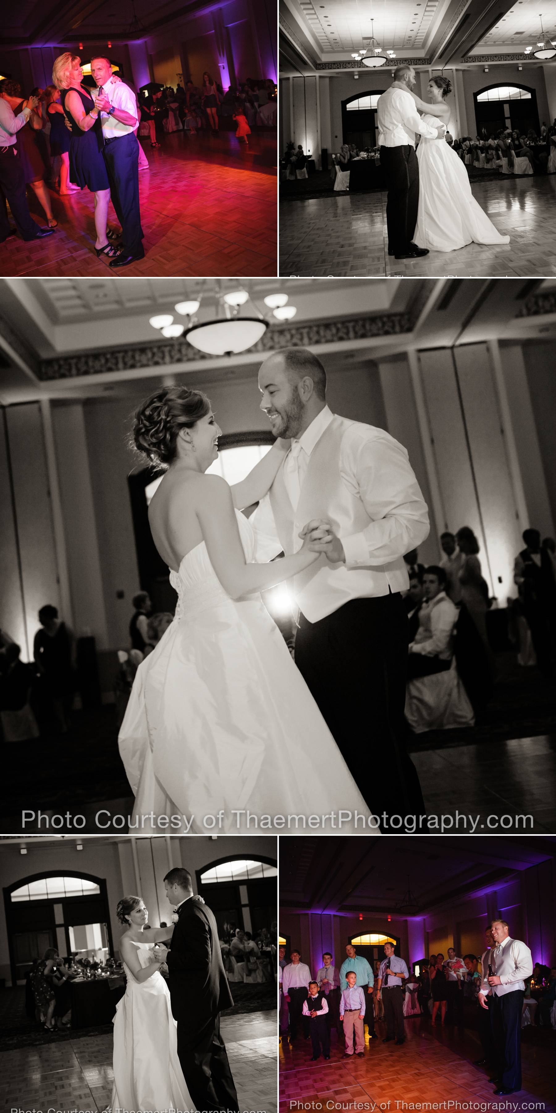 St Charles Wedding Photographer Dance Floor