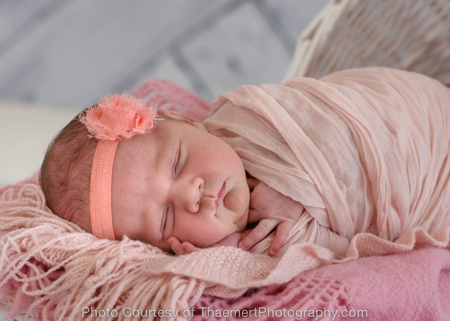 St Charles Newborn Photographer sleeping pose