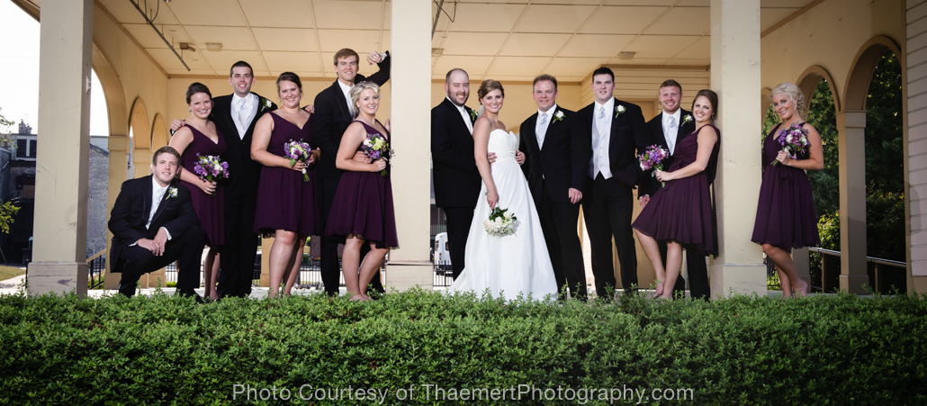 St Charles Wedding Photographer Wedding Party
