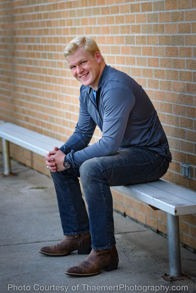 Senior Boy St Charles High School Senior Photographer