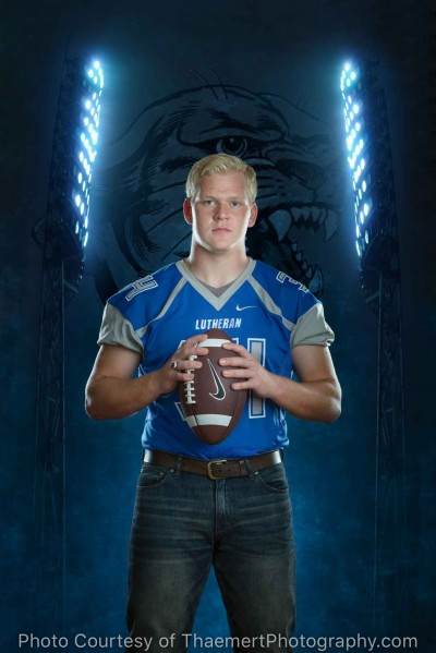 Football Player - Senior Pictures Artwork