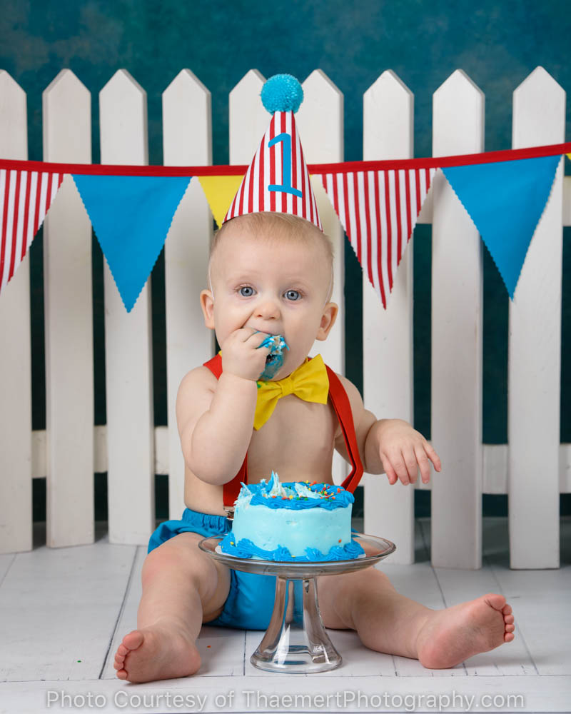 First Birthday Baby Photographer