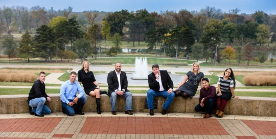 Business Portraits for Teams at the Grand Basin